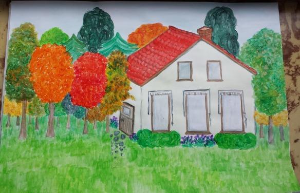 fall in farmhouse