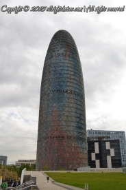 Torre Agbar - the gateway to the new technological district