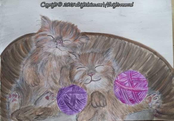day6-sleeping kittens