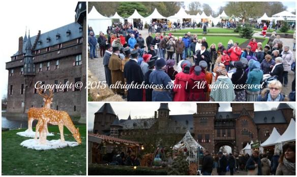 kasteel-de-haar-garden christmas market