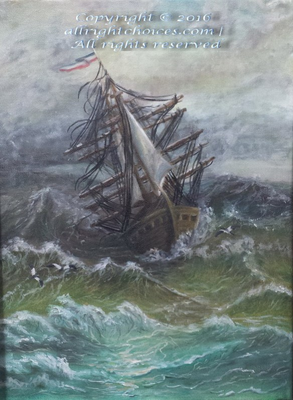 old dutch sail ship