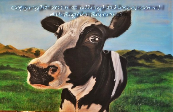 realistic-cow-painting