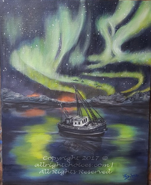 northen lights aurora borealis