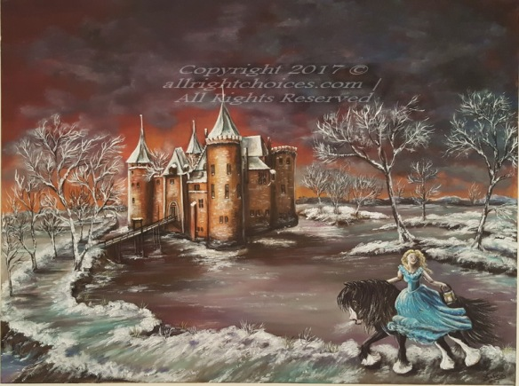 muiderslot castle painting princess horse allrc